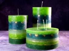 candele verdi